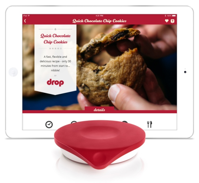 drop scale and ipad